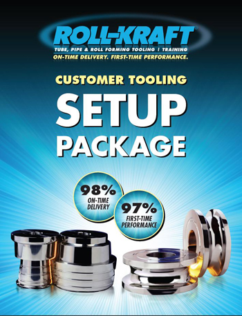 New Roll Forming Tooling Setup Package