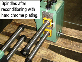 Roll Forming Spindle Reconditioning